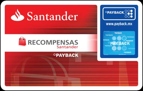 Recompensas Santander con PayBack