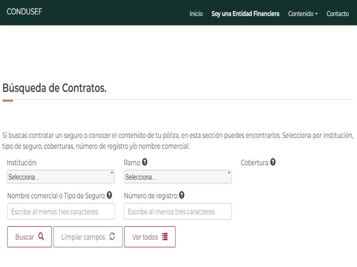 Registro de contratos de adhesión de seguros