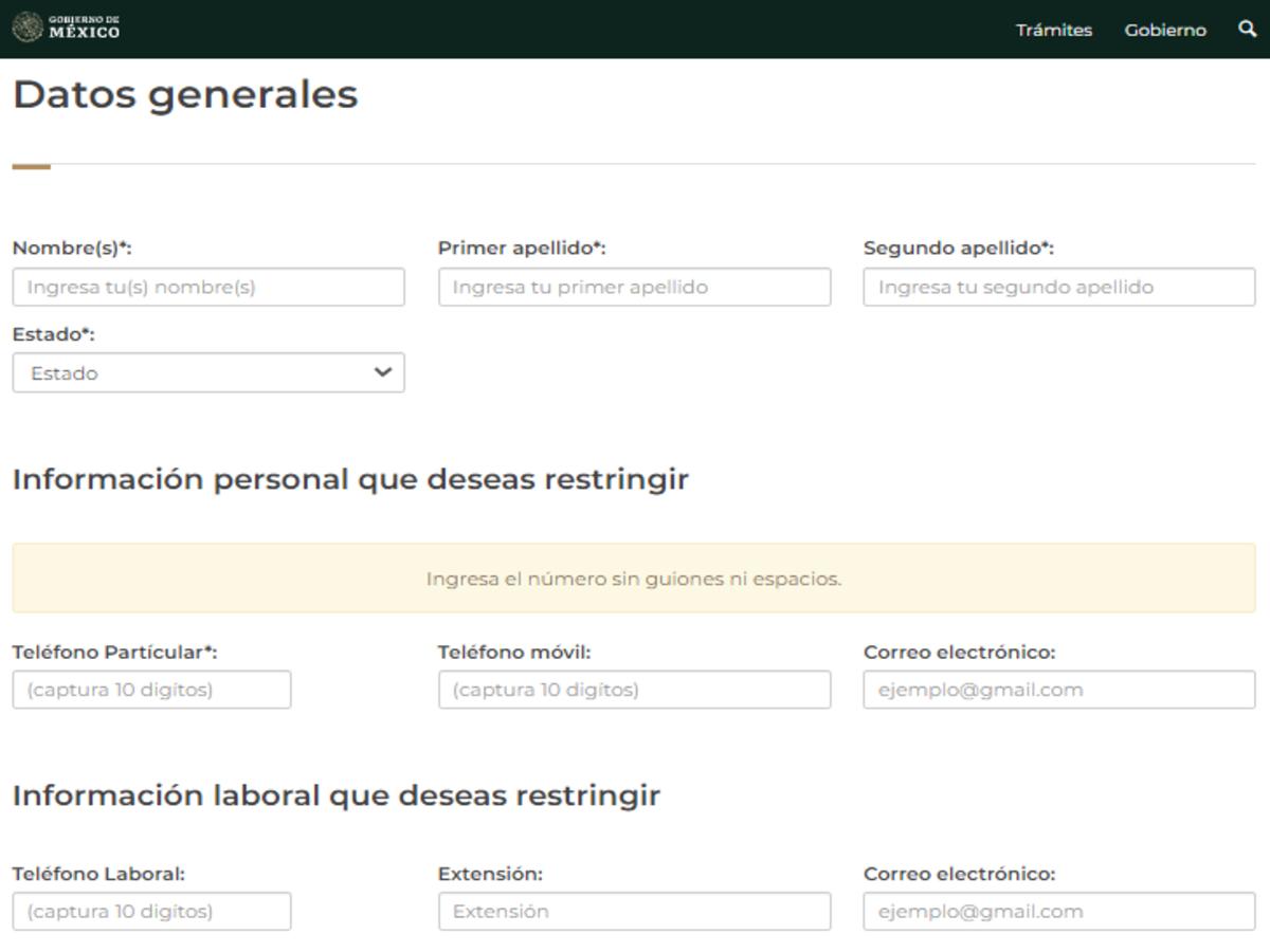 Registro público de usuarios que no desean información publicitaria de productos y servicios financieros
